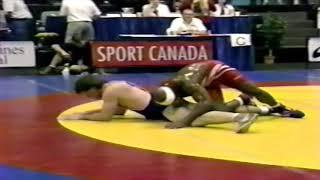 1993 Senior World Championships: 82 kg Kevin Jackson (USA) vs. Unknown