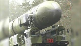Lanzamientos de misiles soviéticos y rusos. Vídeo de archivo