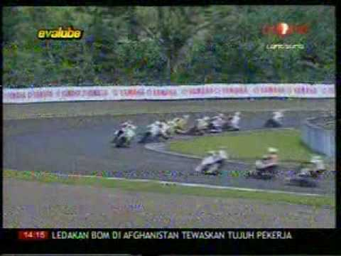 INDOPRIX 2009 SERI 2 IP125cc RACE 2 PART 1