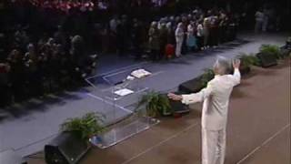"""Benny Hinn sings """"Holy Are You Lord"""""""