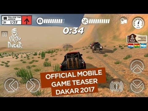 2017 Dakar Mobile Game Official Teaser