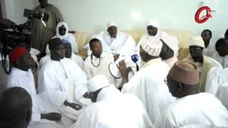 Visite de Thierno Alpha Ba à la Mosquée de la Divinité de Ouakam