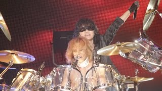 X JAPAN - JADE / RUSTY NAIL / 紅 [LIVE, 2015.6.27 LUNATIC FEST.]