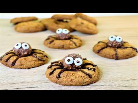 Xxx Mp4 Spider Cookies Chocolate Chips Cookies Halloween Cookies Neetu Suresh 3gp Sex