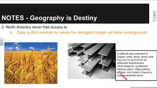 Unit 1   Geography is Destiny