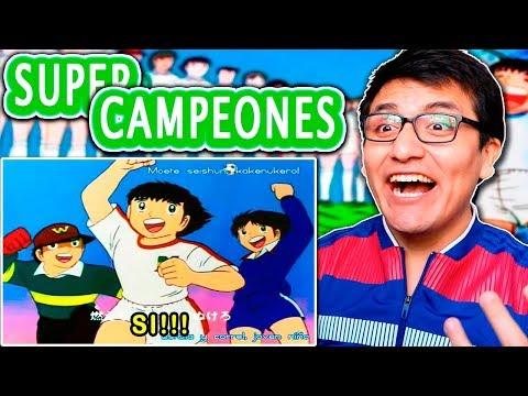 SUPER CAMPEONES (CAPTAIN TSUBASA) TODOS LOS OPENINGS REACCIÓN Y CRITICA