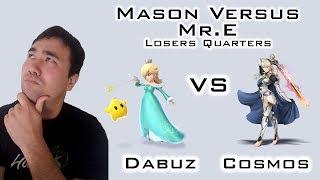 K0rean's Analysis: Dabuz vs Cosmos - Losers Quarters @ Mason Versus: Mr. E - An MD/VA Regional