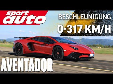 Lambo Aventador LP 750 4 SV 0 300 km h 0 Highspeed Braking