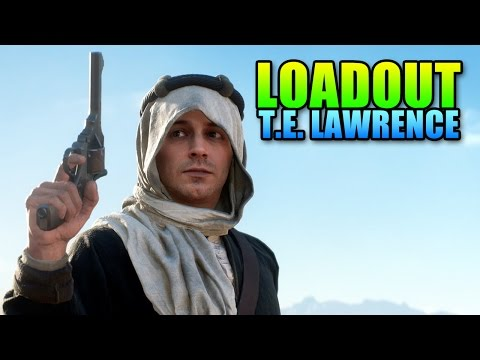 watch Loadout Lawrence Of Arabia - Custom SMLE | Battlefield 1 Sniper Gameplay