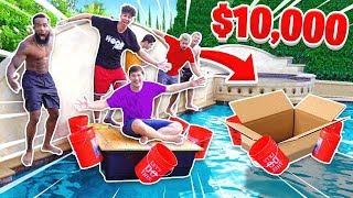 Last to Sink Wins $10,000 - 2HYPE DIY BOAT CHALLENGE!