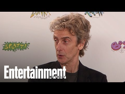 Doctor Who Peter Capaldi Shares Advice He Gave Jodie Whittaker SDCC 2017 Entertainment Weekly