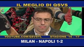 QSVS - I GOL DI MILAN - NAPOLI 1-2  TELELOMBARDIA / TOP CALCIO 24
