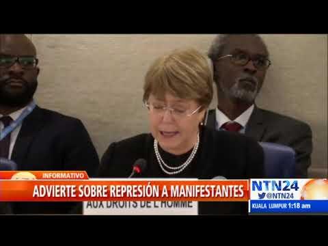 "Xxx Mp4 Bachelet Reconoce Crisis ""devastadora"" En Venezuela 3gp Sex"