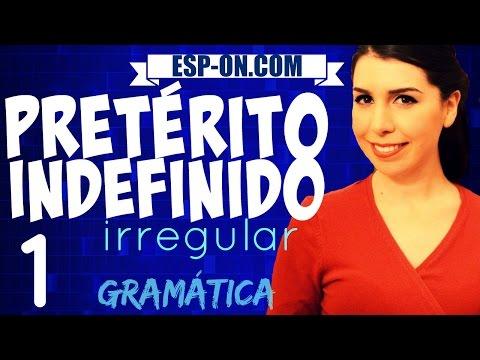 Lezioni di Spagnolo 21 - Verbi Pretérito Indefinido (Irregular)