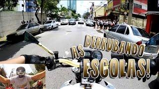 ALN1001 XJ6 WHITE EDITION GOLD | DERRUBANDO AS ESCOLAS