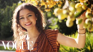 73 Questions With Zendaya | Vogue