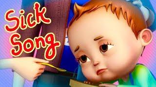 Nah Nah Ha Ha - Sick Song | Baby Ronnie | Nursery Rhymes & Kids Songs | Videogyan 3d Rhymes