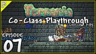 Terraria 1.3.3 | Looting The Dungeon! | Co-Class Let's Play w/ChippyGaming [#7]