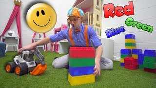 Learn Emotions with Blippi at the Play Place | Learn Colors and more!