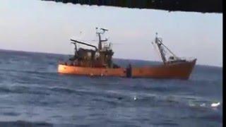 شاهد سفينة الصيد بالجار  View trawl fishing vessel