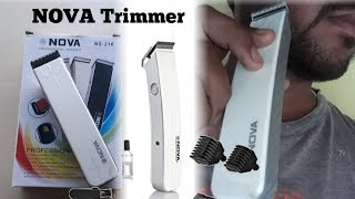 NOVA NS-216 Trimmer ONBOXING - REVIEWS