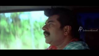 Thuruppu Gulan Malayalam Movie | Mlayalam Movie | Mammooty and Sneha in Car