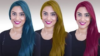 Hair Color Changing In Photoshop-Photoshop Cs6-Hindi/Urdu Tutorial