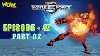 Motu Patlu presents Hot Wheels Battle Force 5 -Blast From The Past - S2 E47.P2 - in Hindi