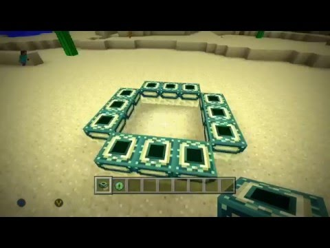 how to make the end portal in minecraft xbox 360