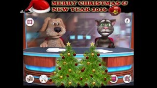 Talking Tom & Ben News - Breaking New Year Poem and Wishes - Cartoon Animation - For Kids & Adults!