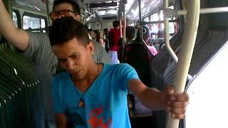 EIKU FEAT  MC DUENDE RAPEROS  EN METROLINEA   BUCARAMANGA  COLOMBIA