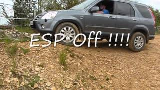 CRV mit oder ohne ESP fahren - Offroad Park Langenaltheim