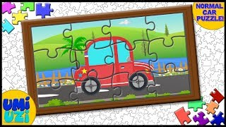 Umi Uzi | car | Puzzle Game |Videos For Kids |Puzzle learning