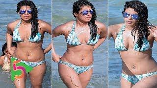 আবারো বিকিনি পরিহিত অবস্থায় ক্যামেরাবন্ধী প্রিয়াঙ্কা চোপড়া | Priyanka Chopra In Bikini Again