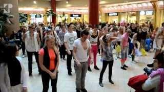 Tunak Tunak Tun + Gangnam Style (Flashmob @ Solaris)