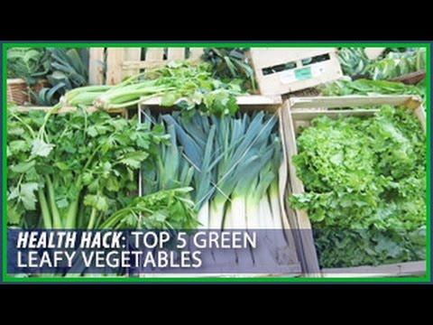 Top 5 Leafy Green Vegetables Health Hacks Thomas DeLauer