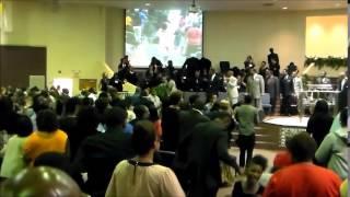 Tye Tribbett's Praise Break at The North Carolina Second Ecclesiastical Jurisdiction AIM COGIC 2015