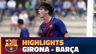 [HIGHLIGHTS] FUTBOL (Juvenil A): Girona - FC Barcelona (0-3)