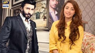 Watch as Sanam Chaudhry shares her experience working with Aijaz Aslam