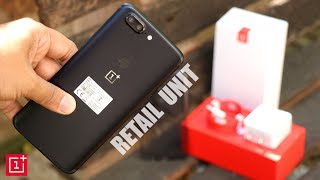 OnePlus 5T Unboxing in Hindi [Indian Retail Unit]