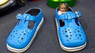 Дом Великана и Роботы Развлечения для детей Funny Entertainment for kids Indoor Playground for kids