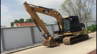 Good Morning CATERPILLAR 312D Excavator Go Work