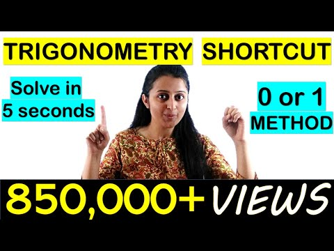 Xxx Mp4 TRIGONOMETRY SHORTCUT TRICK FOR NDA JEE CETs COMEDK SOLUTION IN 5 SECONDS 3gp Sex