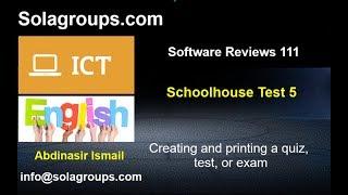 Software Reviews 111 SchoolHouseTest 5