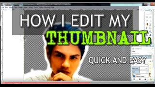 HOW TO MAKE A CUSTOM THUMBNAIL ON  YOUTUBE CHANNEL TUTORIAL (very easy)
