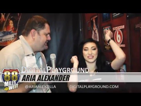 Interview with Aria Alexander 2016 Adult Entertainment Expo