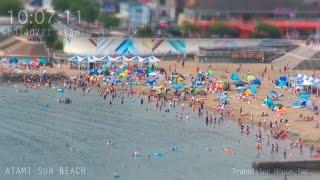 アタミラプス:みんな何時くらいからビーチに来るのだろう#2 2014年7月21日