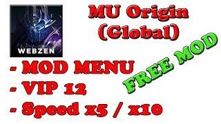 FREE! MU Origin (Global) Ver. 2.3.1 MOD MENU APK | High Movespeed | VIP 12 |