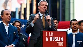 """New York Mayor says """"I am a Muslim"""""""