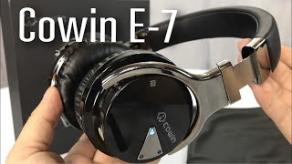 Cowin E-7 Active Noise Cancelling Wireless Bluetooth Over-ear Stereo Headphones review